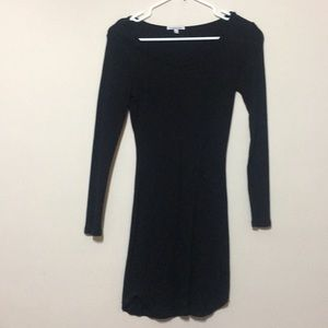 Charlotte Russe swoop neck dress